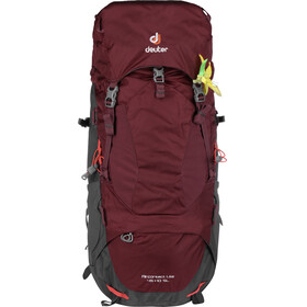 Deuter Aircontact Lite 45 + 10 SL Backpack Women maron-graphite